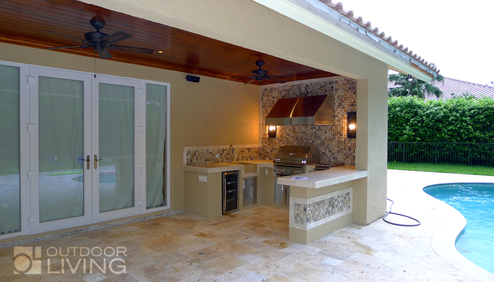 Outdoor BBQ Transformation | OUTDOOR LIVING FLORIDA on New Vision Outdoor Living id=34843