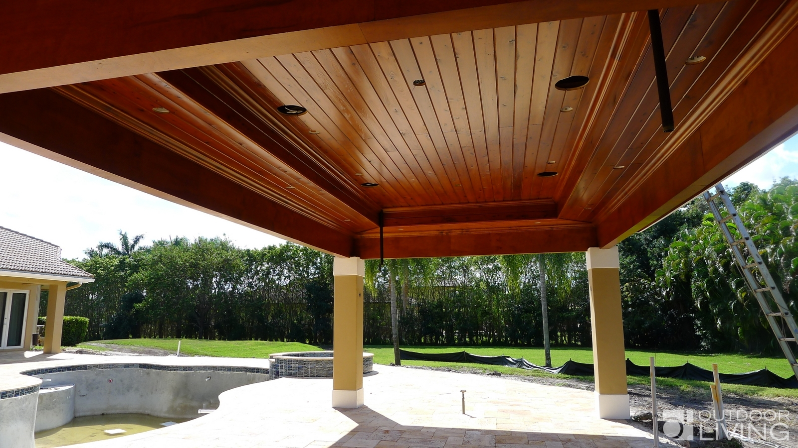 Pavilion With Outdoor Kitchen Outdoor Living Florida